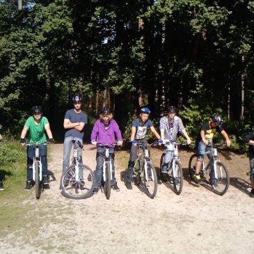 Alle Radler der heurigen Bike AG
