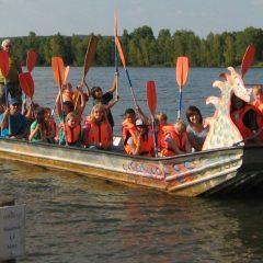 Klassenfahrt an den Steinberger See