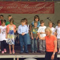 Auftritt beim Aktionstag der Musikschule