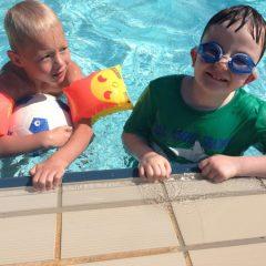 Ausflug ins Schwimmbad