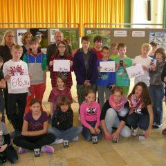 Schüler sammeln für Bayerns Natur