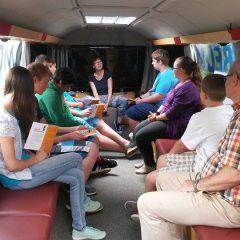 Besuch des Bibelmobils