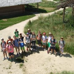 Besuch im Geschichtspark Bärnau