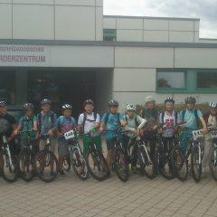 Klassenfahrt mit Fahrrad nach Rieden