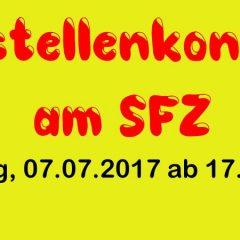 Baustellenkonzert am SFZ