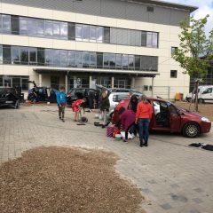 Spendenaktion am SFZ Sulzbach-Rosenberg