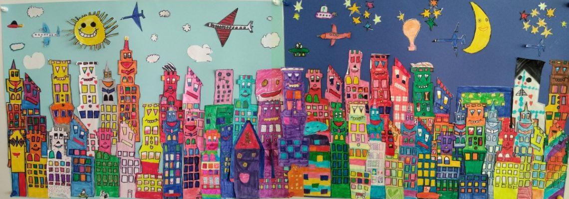 Kunstprojekt – Gemeinschaftsbild